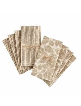 Mudpie Leaf Napkin Set