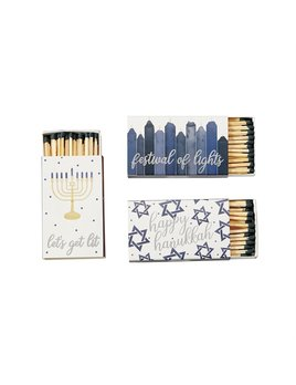Mudpie Hanukkah Boxed Matches