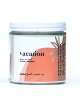 Ginger June Candle Co. Terra Collection Vacation Candle - Large Jar