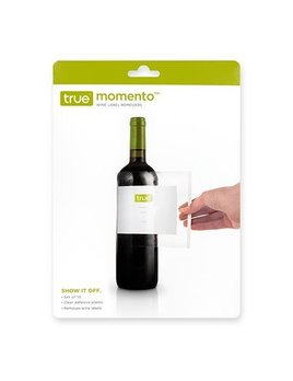 True Memento Wine Label Removers