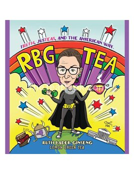 The Tea Book Ruth Bader Ginseng - Organic Lemon Green Tea