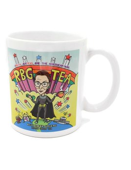 The Tea Book Artistic Porcelain Mug RBG