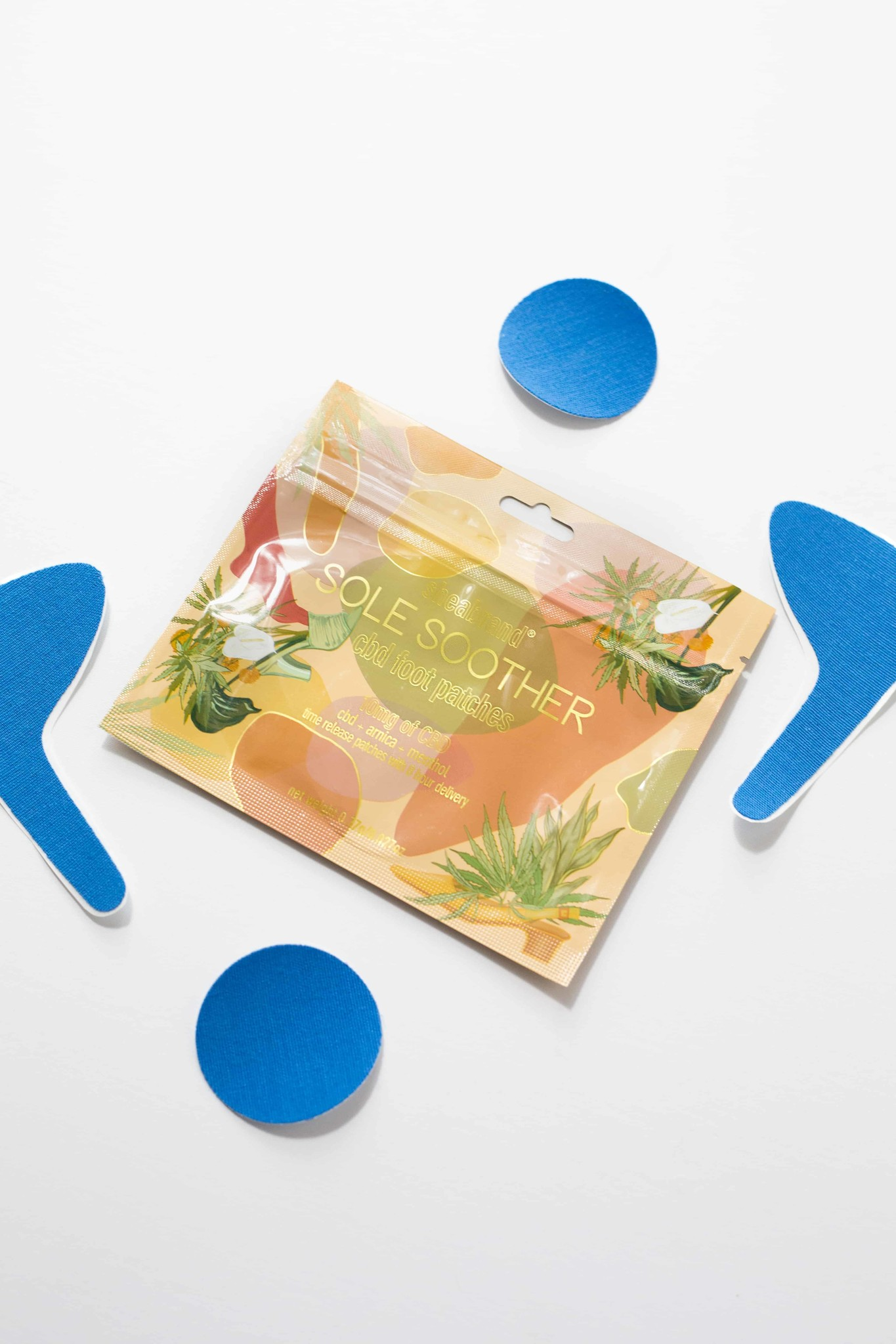 Shea Brand Sole Soother CBD Foot Patch
