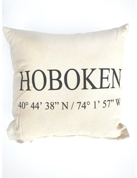 Eric & Christopher Hoboken Pillow