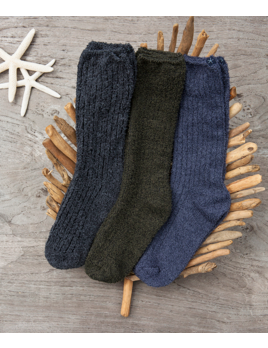Barefoot Dreams Men's Ribbed Socks