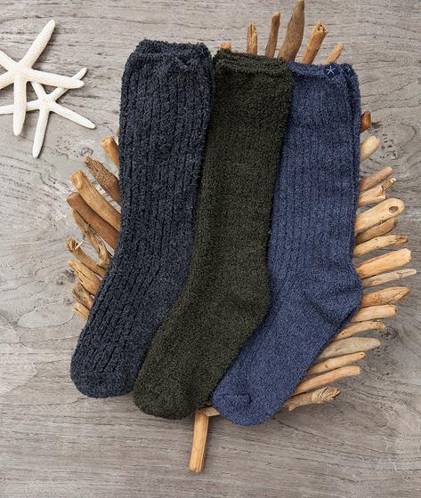 Barefoot Dreams Men's Ribbed Socks
