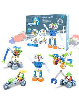 MukikiM Jr Engineer - Robot Building Blocks Kit