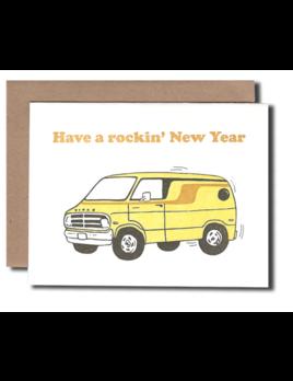 Hudson Paperie Rockin' New Year Card