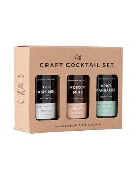 W & P Design Craft Cocktail Syrup Set