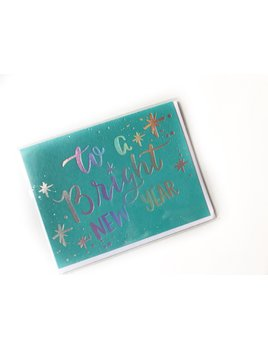 Hudson Paperie Bright New Year Card