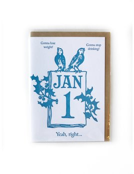 Hudson Paperie Resolutions Card