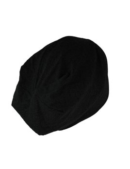 Kitsch Satin Lined Jersey Sleep Beanie - Black
