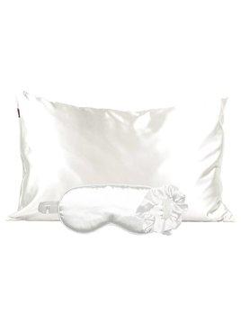 Kitsch Satin Sleep Set - Ivory
