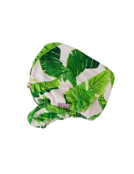 Kitsch Microfiber Hair Towel - Palm Leaves