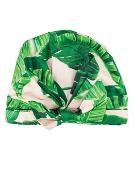 Kitsch Luxe Shower Cap - Palm Print