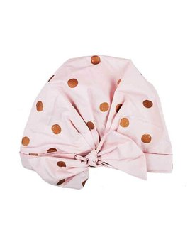 Kitsch Luxe Shower Cap - Blush Dot