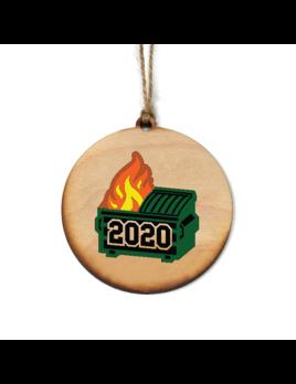 Driftless Studios Dumpster Fire 2020 Ornament
