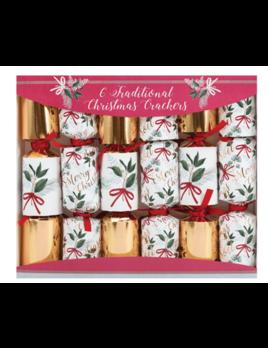 The Gift Wrap Company Nostalgic Bouquet Christmas Crackers