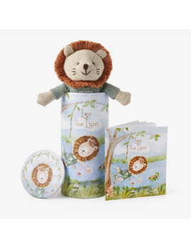 "Elegant Baby Lion Toy 10"" - Gift Box"