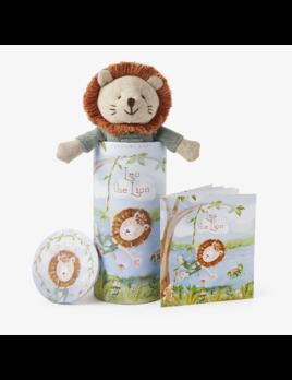 """Elegant Baby Lion Toy 10"""" - Gift Box"""