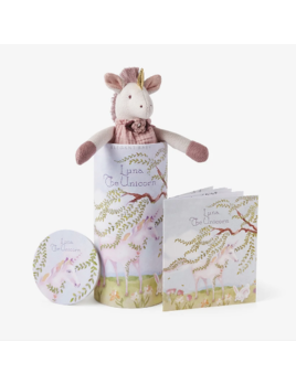 "Elegant Baby Unicorn Toy 10"" - Gift Box"