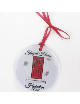 philoSophie's Stationery & Gifts Hoboken Stayed Home Ornament