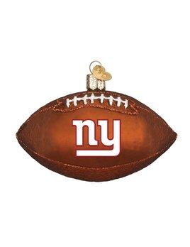 Old World Christmas New York Giants Football Ornament