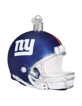 Old World Christmas New York Giants Helmet Ornament
