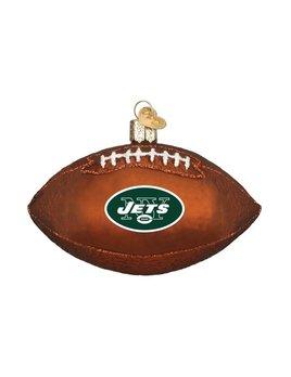 Old World Christmas New York Jets Football Ornament