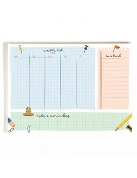 Little Low Studio Weekly Planner Desk Pad