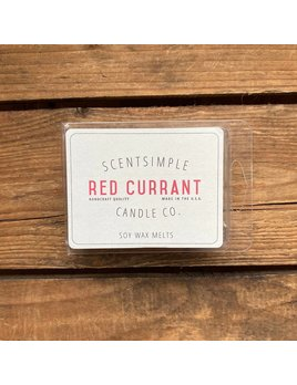 ScentSimple Candle Co. Red Currant Scented Soy Wax Melt