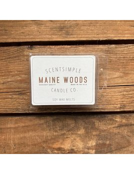 ScentSimple Candle Co. Maine Woods Scented Soy Wax Melt