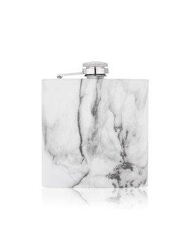 True Marble 6oz Stainless Steel Flask