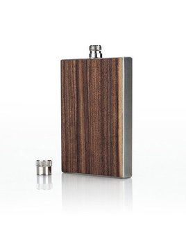 True Wood Paneled Flask