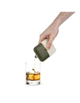 True Matte Army Green Flask