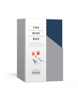 True The Mini Bar: 100 Essential Cocktail Recipes Book Set