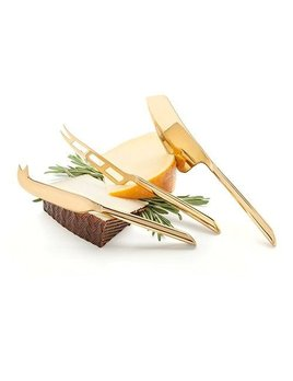 True Gold Cheese Knives