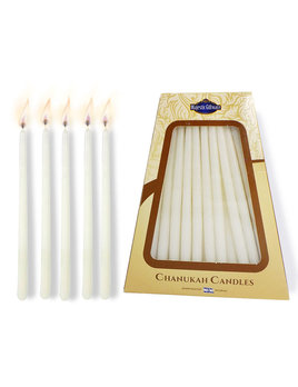 Majestic Giftware Safed Chanukah Candles - White