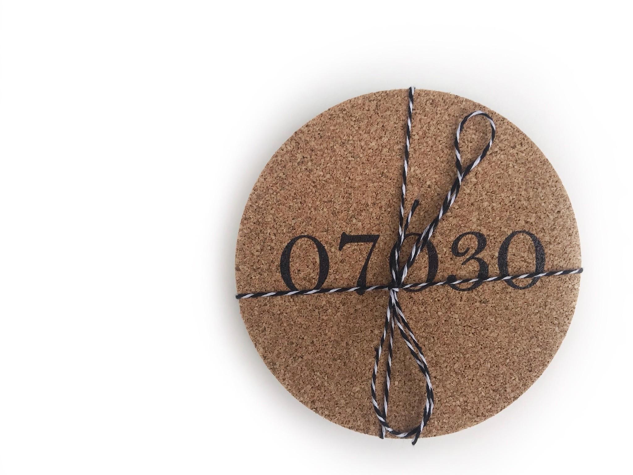 4imprint 07030 Cork Coaster Set (4)