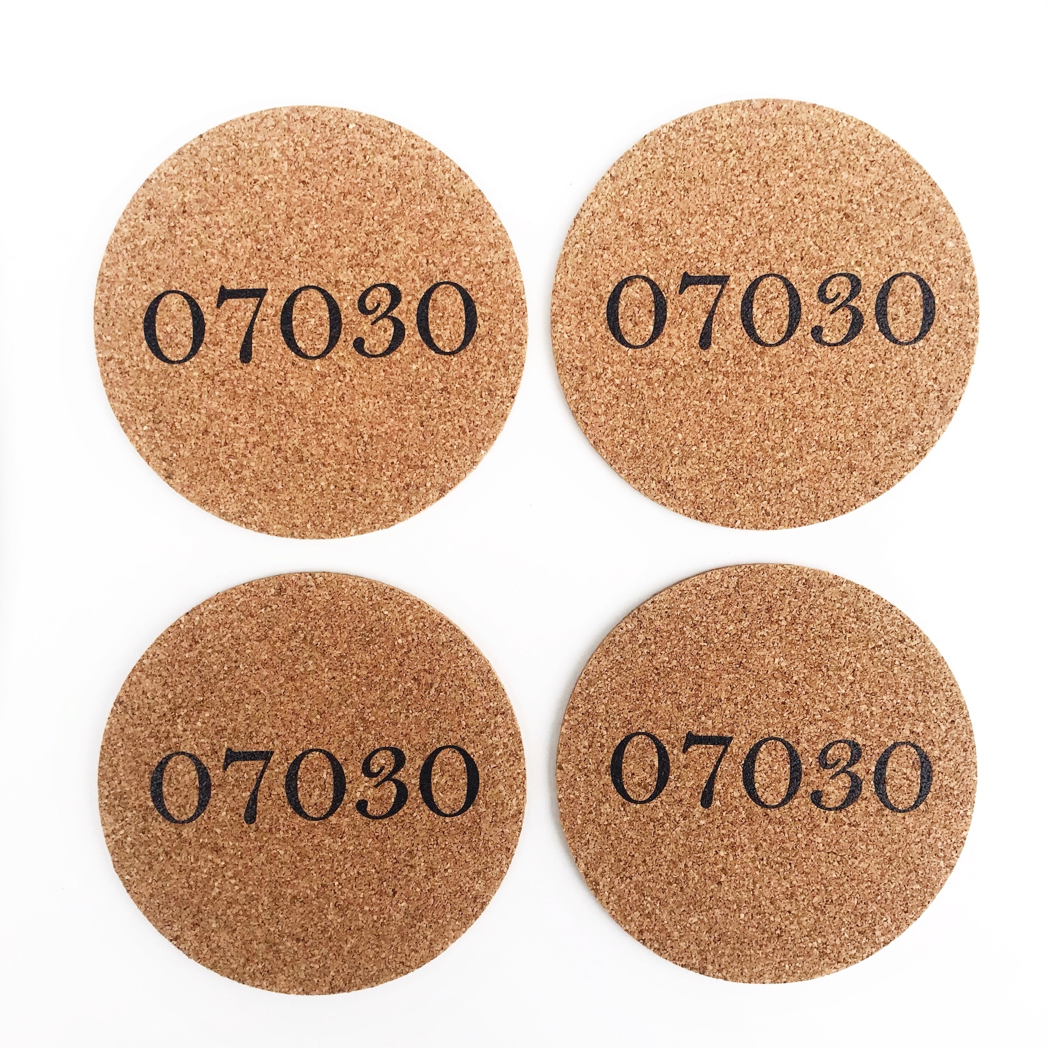 4imprint 07030 Cork Coaster Set (4)