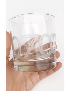 Monster Dance Designs 07030 Etched Whiskey Glass