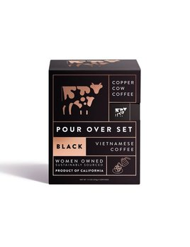 Copper Cow Coffee Coffee - Straight Up 5 Pack