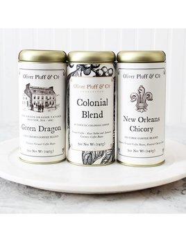Oliver Pluff & Company Early American Coffee Trio