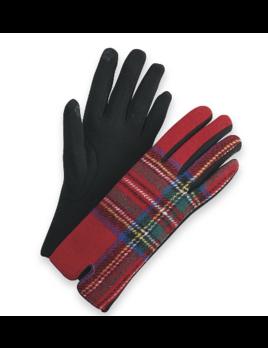 Mudpie Tartan Gloves