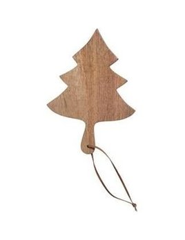 Creative Co-op Cheese/Cutting Board w/ Tree Pattern