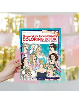 Hello Harlot Real Housewives of NY Coloring Book