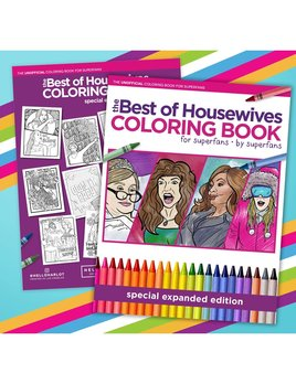 Hello Harlot Best of Housewives Coloring Book