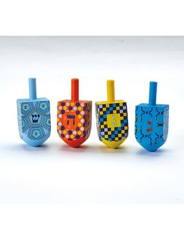 Rite Lite LTD. Large Painted Wood Dreidel
