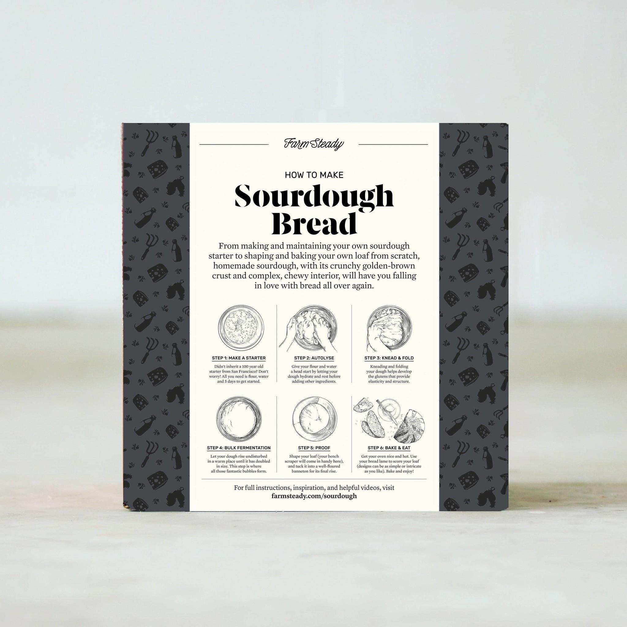 Farm Steady Sourdough Bread Making Kit