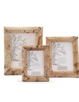 Two's Company White Birch Frames